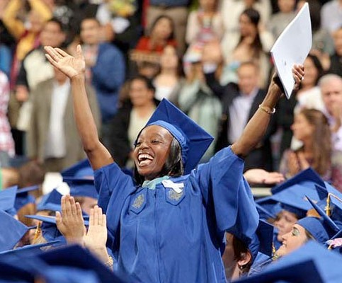 Commencement at Hofstra