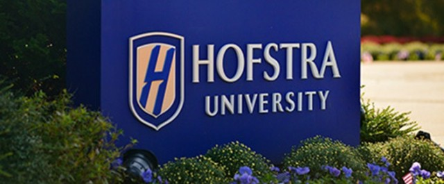 Hofstra University Sign