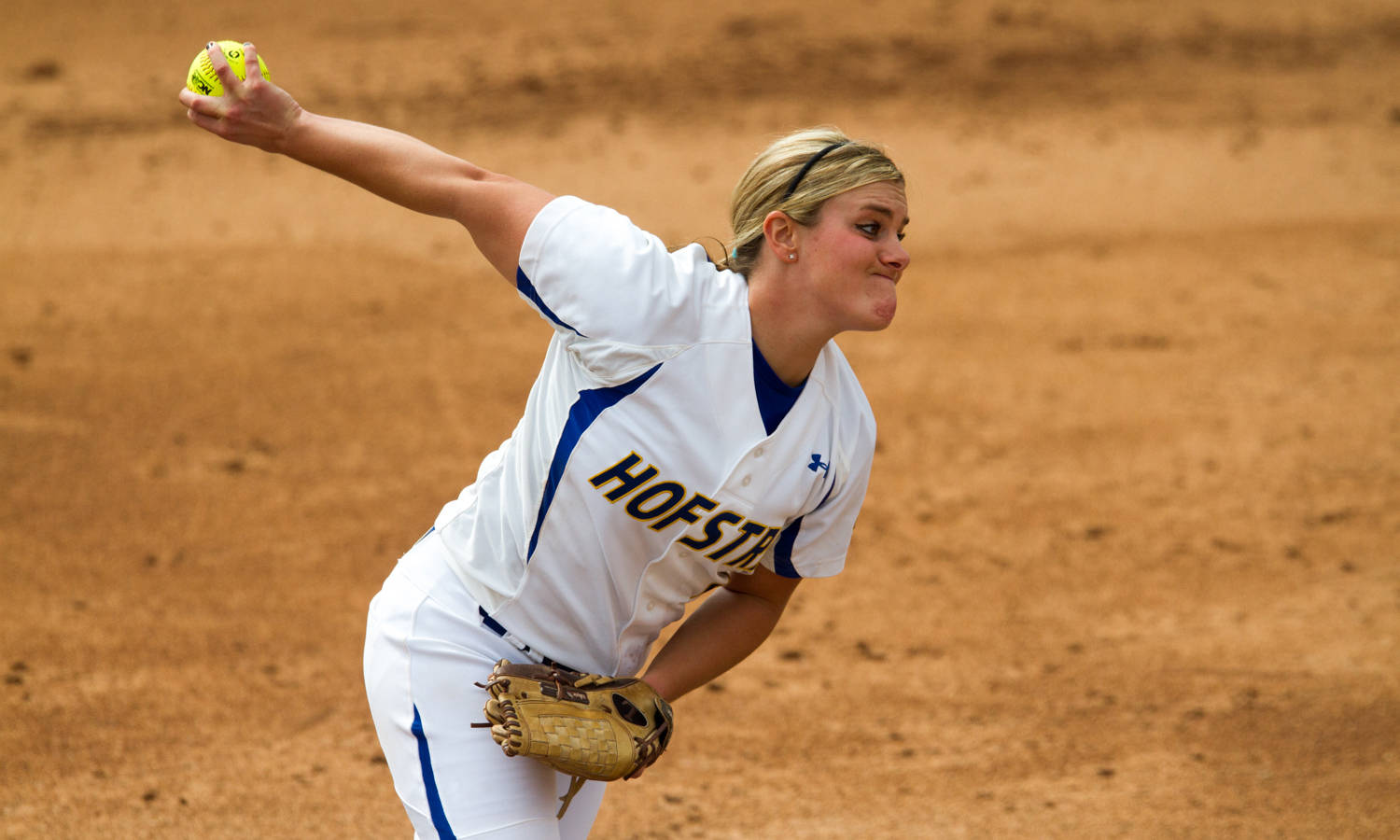 Olivia Galati of the Hofstra Softball Team was named to the Academic All-American Team