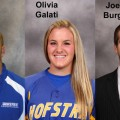 Burg, Maier And Galati Earn CAA Scholar-Athlete Awards