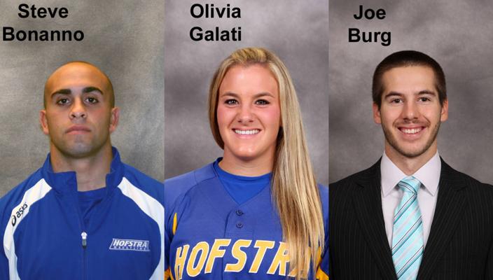 Burg, Maier And Galati Earn CAA Scholar-Athlete Awards