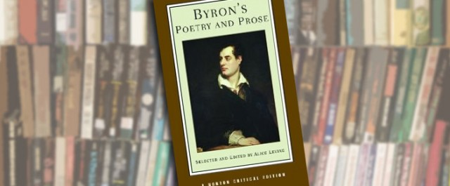 Byron's Poetry and Prose, edited by Alice Levine