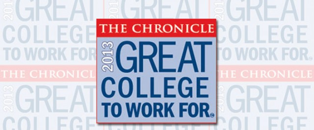 2013 Great Colleges to Work For