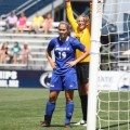 Sam Scolarici Embraces Spotlight In Women's Soccer's Fast Start