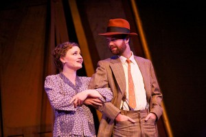 Rita McCann as Rose and Sean Kelly as Herbie