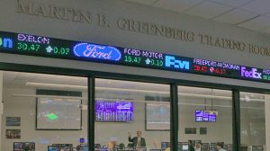 Martin B. Greenberg Trading Room