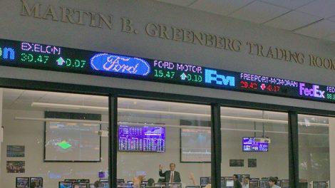 Martin B. Greenberg Trading Room