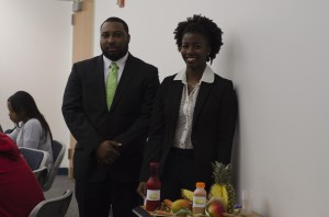 Jomo Lennon and Line-Ariel Bretous impressed judges with their plan for their juice business, Yo Healf!.