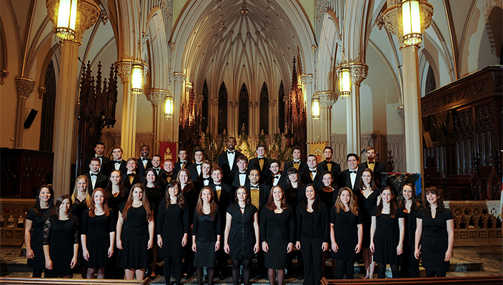 Hofstra Chorale And Chamber Choir Return To The Cathedral Of The Incarnation News Hofstra