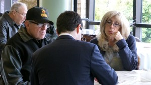 Members of the community take advantage of legal services offered to veterans.