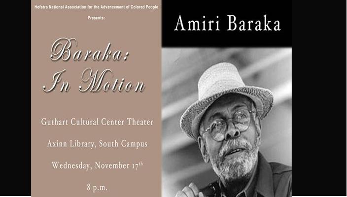 Amiri Baraka poster