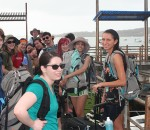 Students in the Galapagos Islands 2014
