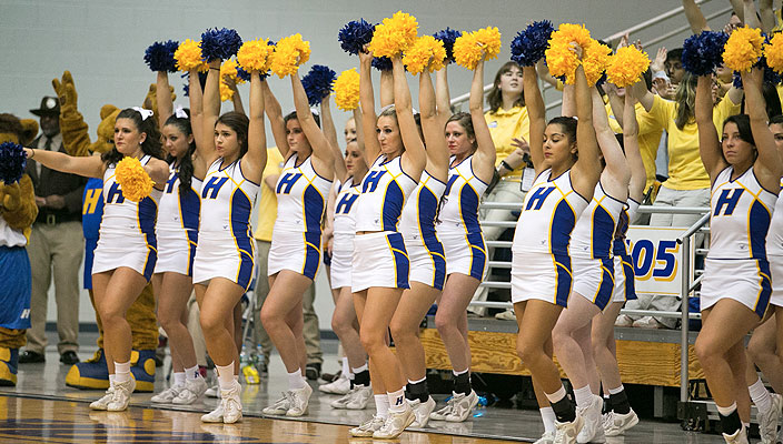 Hofstra University Cheerleaders