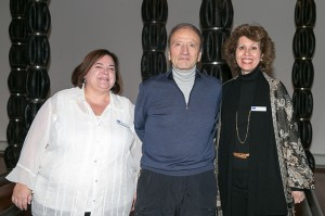 David Jacobs with Karen Alpert and Beth Levinthal