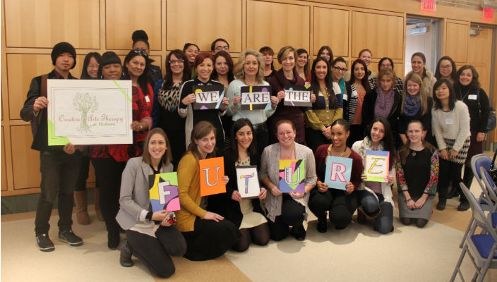 Creative Arts Therapy Hofstra students rs
