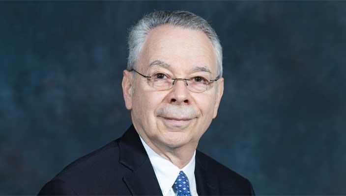 Hofstra Provost Herman Berliner