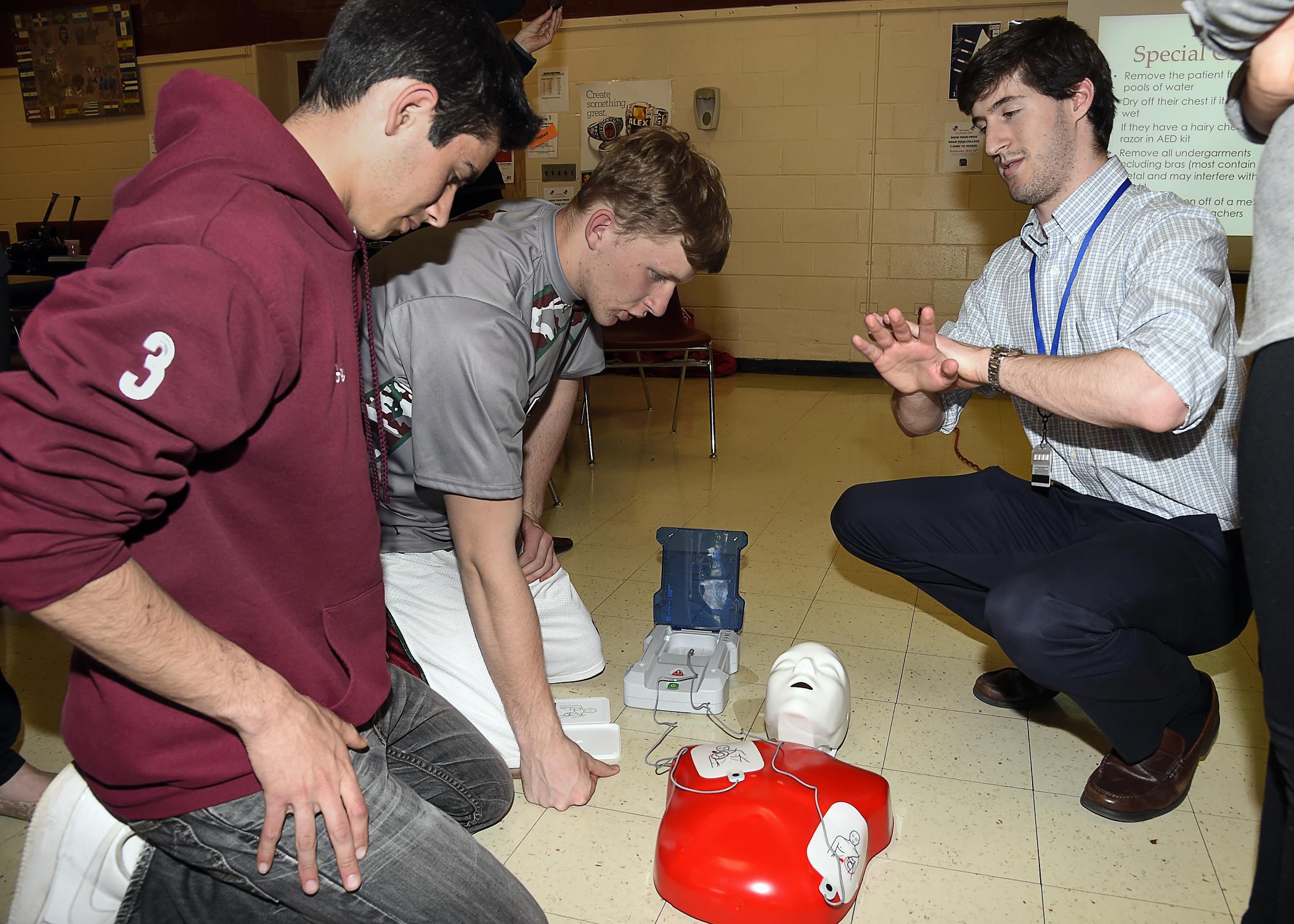 medical school CPR