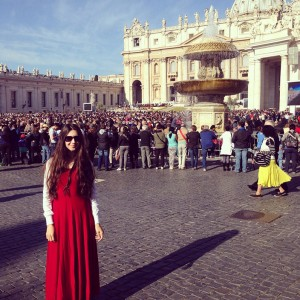 Vatican City on Easter Sunday