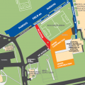 Hofstra NS-LIJ SOM Parking and Building Access Map