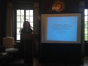 Lisa Merrill podium Northwestern talk 2014