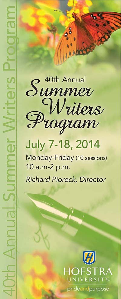 creative writing summer programs nyc Summer sessions 2018 register now  scholarly & creative dr bruce  campbell jr, associate professor of education and recipient of the dr norman.