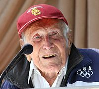 Zamperini lost his battle with pneumonia in early July. He was 97 years old.