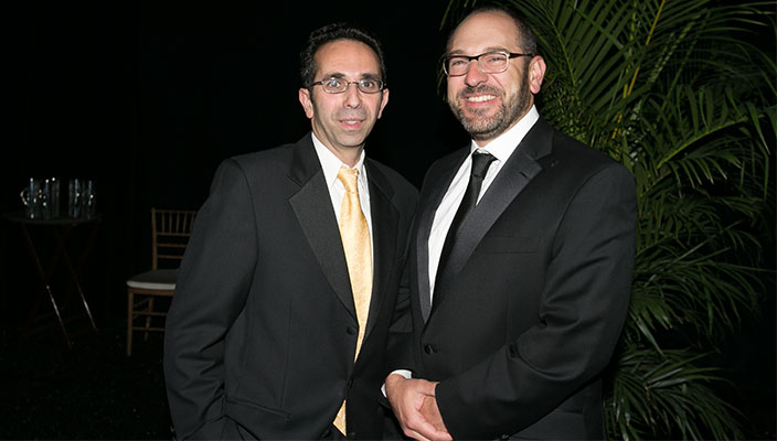 Sina Rabbany and Ron Piervincenzi