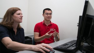 Edward Zhou and Dr. Mundorff