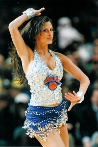 Press became a Knicks City Dancer the summer she graduated from Hofstra.