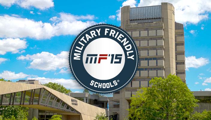Military Friendly logo 2015
