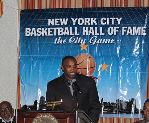 """MBB: """"Speedy"""" Claxton Inducted Into NYC Basketball Hall Of Fame"""