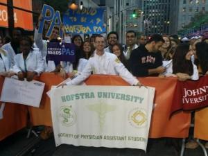PA hofstra banner outside