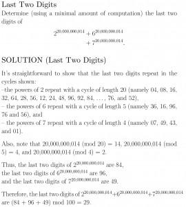 November math problem solution
