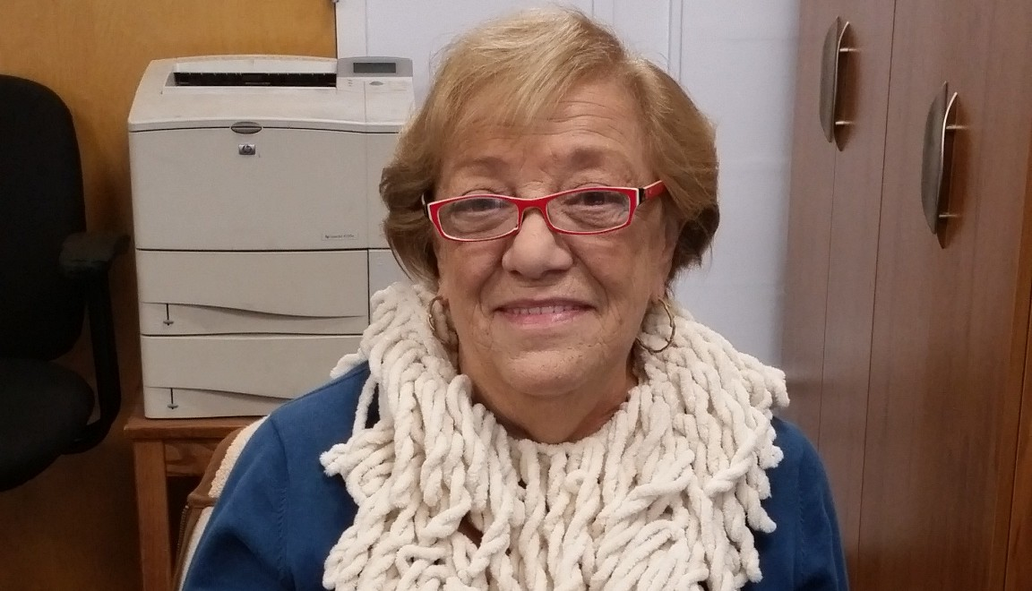 """""""I am thankful for being employed and for having enough food to feed my family without having to worry. And, I am extremely thankful for the people out there helping the people who are unemployed and worrying about food."""" – Lorraine Cotton, Senior Assistant at University Advisement"""