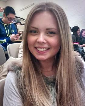 """Being here at Hofstra."" – Tamara Ishanova, freshman psychology major"