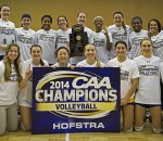 Volleyball Wins CAA Title