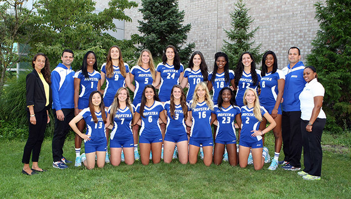 2014 Hofstra Volleyball team