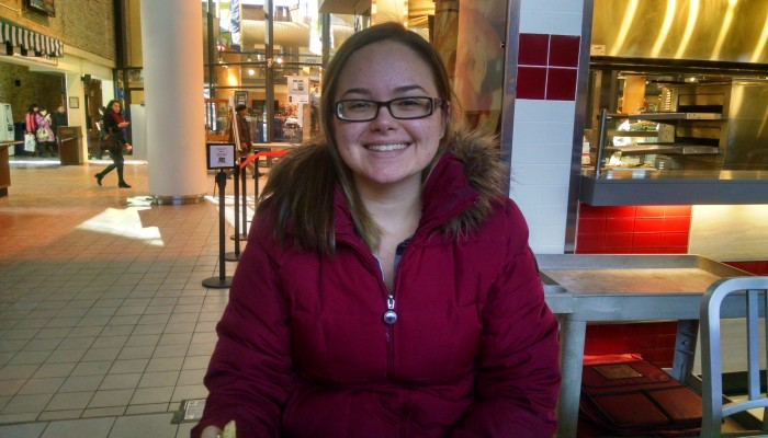"""Adolescent Psychology."" – Victoria Minolfo, sophomore psychology major"