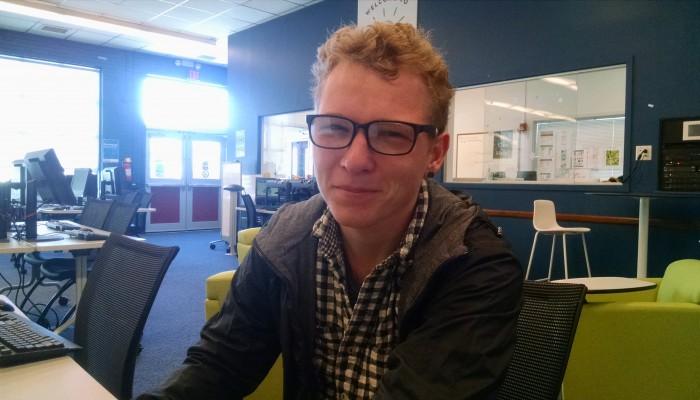 """""""Hydrology."""" – Jakob Sacket, sophomore sustainability major"""