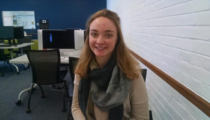 """Globalization and Cinema."" – Alyssa O'Brien, junior global studies major"