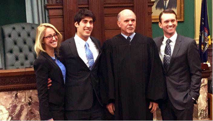 Law school mock trial winners rs