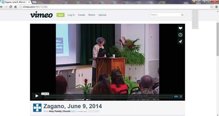 MOOS Opening Lecture, live streamed from South Pasadena, CA.