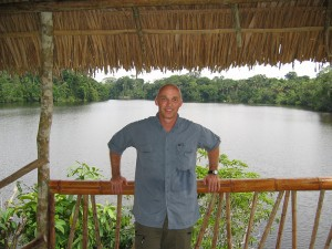 Dr. Chris Sanford of the Biology Department