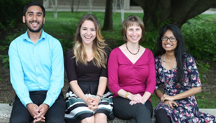 Lister Fellows, Chemistry 2015