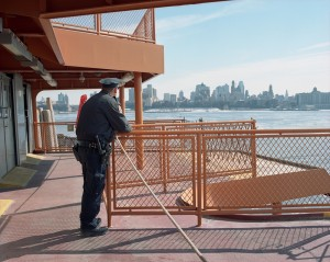 Police Officer, The Staten Island Ferry, 2015