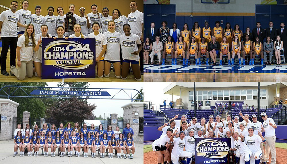 Hofstra Women's Athletics Best In New York State
