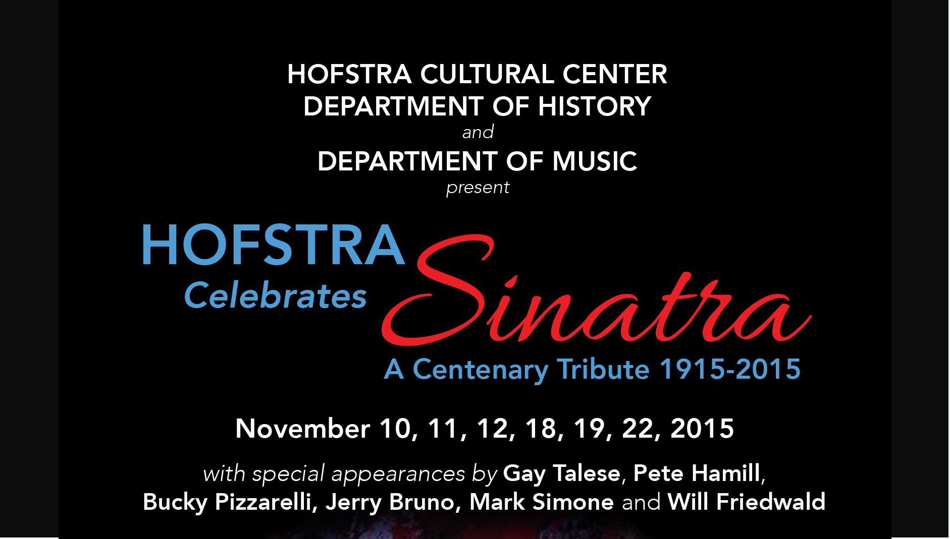 hofstra university choir and string orchestra essay