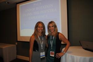 PA faculty Christine Zammit and Shannan Ricoy