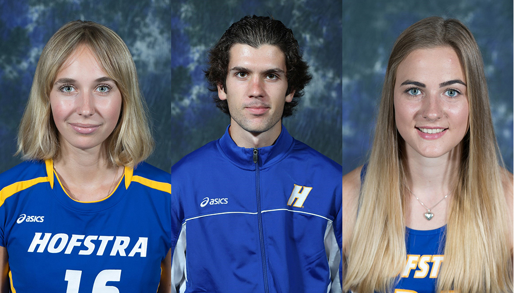 Three Hofstra Student-Athletes Earn Fall CAA Scholar-Athlete Awards