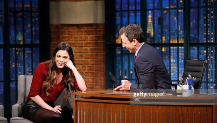 Katie Nolan on Late Night with Seth Meyers